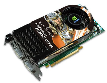 elitegroup ecs n8800gts-640mx graphics card