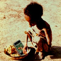 Use your iPhone to feed the world