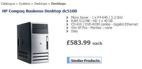 HP bundles business desktop with free country