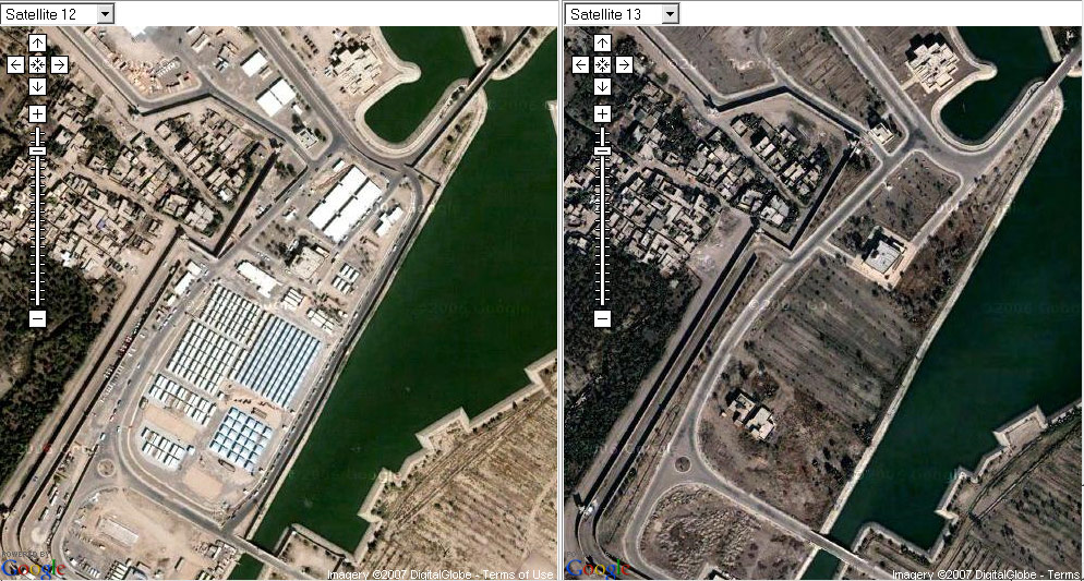 Google erases British bases in Iraq • The Register
