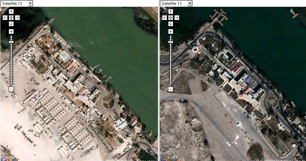 Google erases British bases in Iraq • The Register