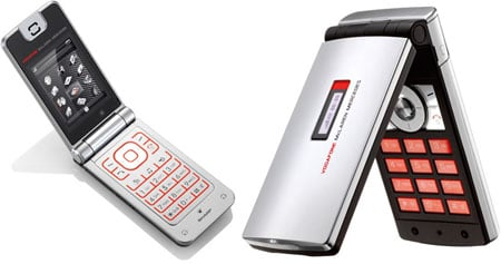 vodafone mclaren mercedes phones: 770sh and gx29