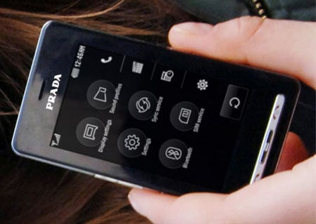 lg prada k850 phone