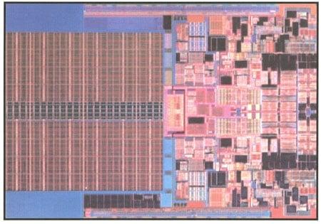 intel's 45nm penryn dual-core die