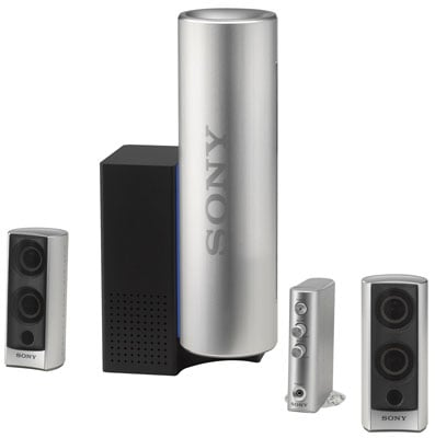 sony srs-dz10 pc 2.1-channel speaker set