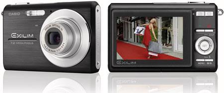 casio exilim ex-z75 7.2mp digital camera