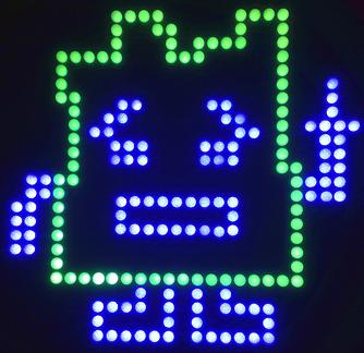 Picture of Mooninite lightboard