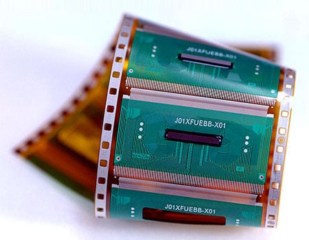 samsung 'thermally enhanced' chip-on-film lcd driver chip