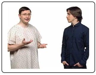 Bill Gates and Steve Jobs... as imagined by Steve Jobs