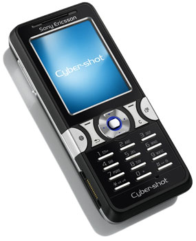 sony ericsson k550i cyber-shot camera phone