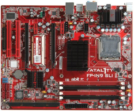 universal abit Fatal1ty FP-IN9 SLI Professional