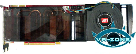 amd's ati radeon r600 xtx oem edition - image courtesy vr-zone