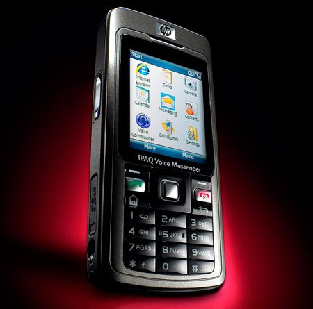 hp ipaq 500 voice messenger