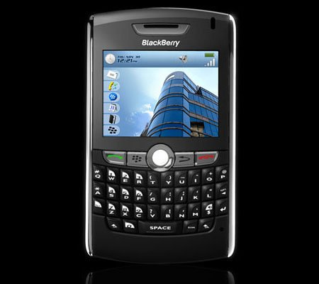 rim blackberry 8800 - front