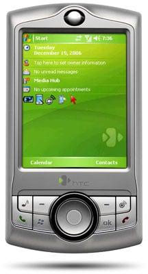 htx p3350 media pda phone