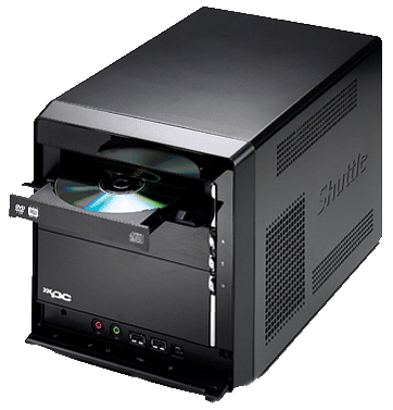 shuttle xpc p2-3700w sff workstation