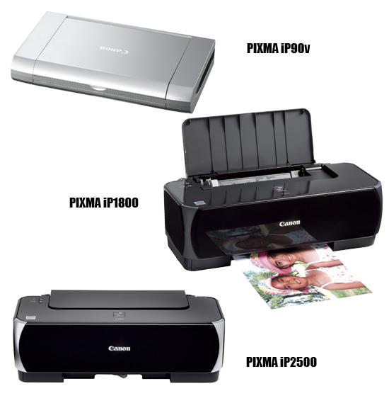 Canon's new Spring 2007 printers