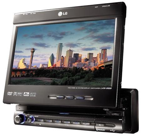 LG LAN9600R in-car sat-nav