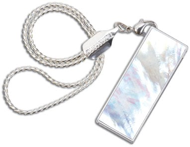 Transcend mother-of-pearl USB Flash drive