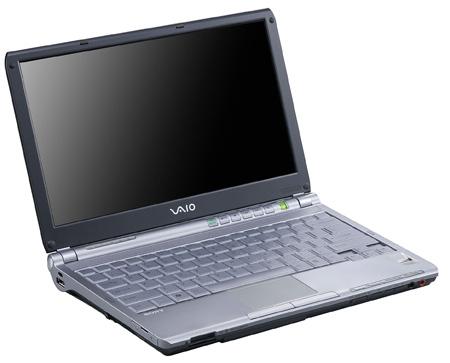 Sony Vaio VGN-TX5XN laptop