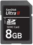SanDisk 8GB Ultra II SDHC card