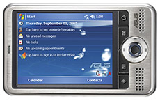 Asus A626 wireless PDA