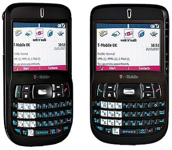 T-Mobile MDA Mail smart phone