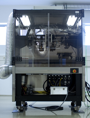 Nanoident circuitry printer unit