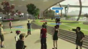 Sony unveils a 3D MySpace with games • The Register