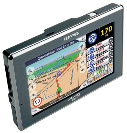 Mio C520 personal navigation device