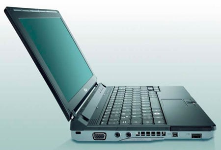 Fujitsu Siemens Lifebook P7230 HSUPA-connected laptop