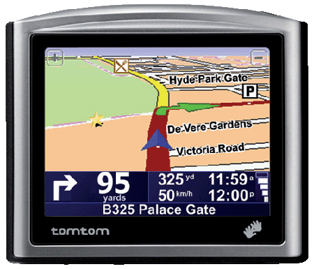 TomTom One Europe GPS device