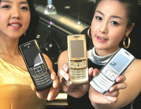 Samsung Magic line - Brown, Gold and Silver