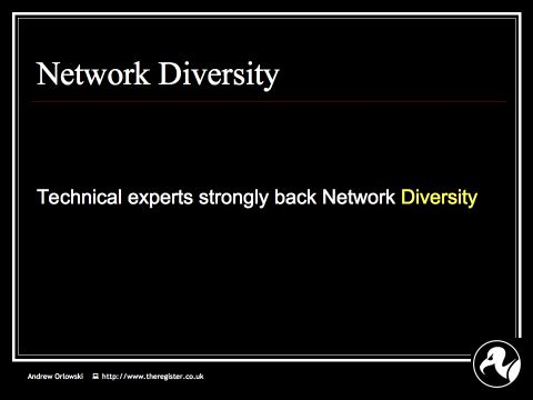 Andrew on Net Neutrality: Slide13 : What do network engineers think?