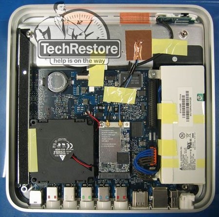 Inside the Apple TV - image courtesy TechRestore