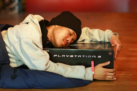 Ritatsu Thomas: first in the queue for the PS3 launch