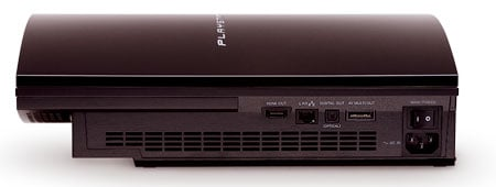 Sony PlayStation 3 - back