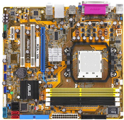 Asus M2A-VM AMD 690G-based motherboard