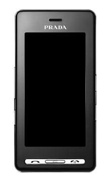 LG Prada KE850 - front