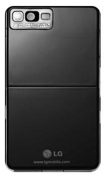 LG Prada KE850 - back