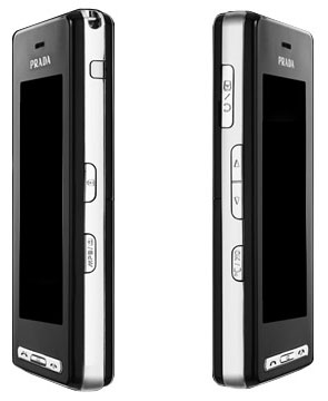 LG Prada KE850 - sides