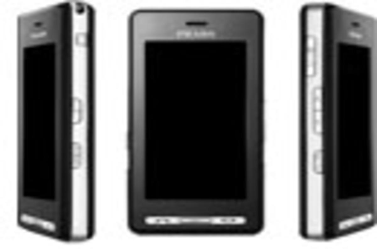 LG Prada KE850 touchscreen phone • The Register