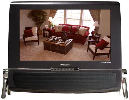 HANNspres HANNSlounge designer LCD TV - front
