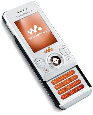 Sony Ericsson W580 - front