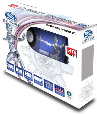 Sapphire Radeon X1950 GT - the box