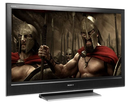 Sony Bravia D3000 - 300 image courtesy Warner Bros