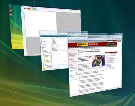 Windows Vista Flip