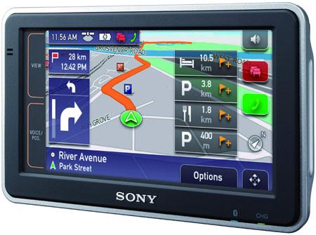 Sony Nav-U NV-92T widescreen satnav