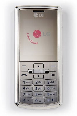 LG Shine Bar candybar phone
