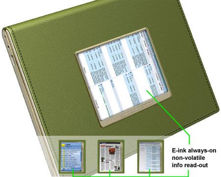 Intel's concept 'metro laptop'